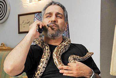 حیوان خانگی عجیب مهران مدیری