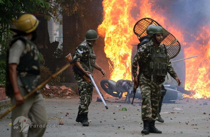 (تصاویر) جنجال مرشد متجاوز در هند