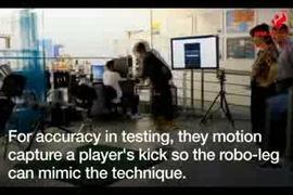 فیلم: تست توپ فوتبال برای جام جهانی