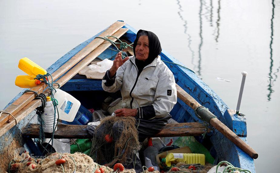 چریفا نیمری، 69 ساله، ماهیگیر، تونس