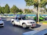برگزاری رژه خودرویی گردان مهندسی رزمی جنگ جهادچهارمحال و بختیاری بمناسبت هفته دفاع مقدس